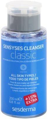 Sesderma Sensyses Cleanser Classic лосион за почистване на фон дьо тен за всички типове кожа на лицето
