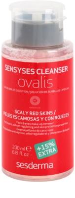 Sesderma Sensyses Cleanser Ovalis make-up lemosó az érzékeny, vörösödésre hajlamos bőrre