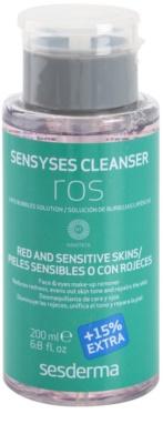 Sesderma Sensyses Cleanser Ros лосион за почистване на фон дьо тен за дехидрaтирана и увредена кожа