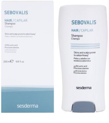 Sesderma Sebovalis pomirjujoči šampon proti prhljaju 1