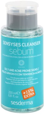 Sesderma Sensyses Cleanser Sebum Make-up Entferner für fettige Haut