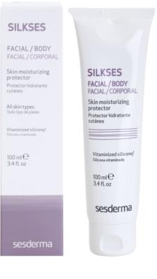 Sesderma Silkses crema hidratante protectora con acción renovadora para el tratamiento local 1