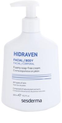 Sesderma Hidraven emulsão de limpeza para rosto e corpo