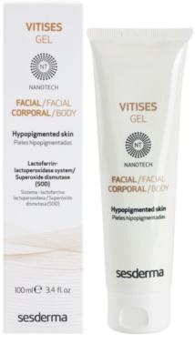 Sesderma Vitises гель, прискорюючий відновлення пігментації шкіри при лікуванні вітіліго 1