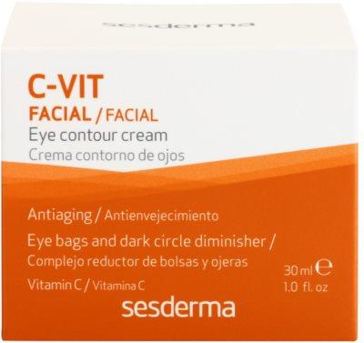 Sesderma C-Vit Augencreme gegen Falten gegen Schwellungen und Augenringe 3