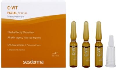 Sesderma C-Vit posvetlitveni in obnovitveni serum s takojšnim učinkom 1