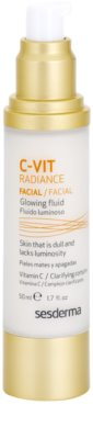 Sesderma C-Vit Radiance fluido iluminador  para pele cansada 1