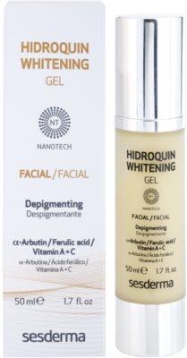 Sesderma Hidroquin Whitening weiß machendes Gel für Pigmentflecken 2