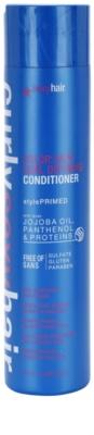 Sexy Hair Curly Balsam pentru protectia culorii parului cret fara sulfati si parabeni