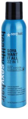 Sexy Hair Healthy lahki balzam brez spiranja, ki vsebuje sojo, kakav in arganovo olje