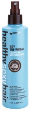 Sexy Hair Healthy spülfreier Conditioner mit Soja und Kakao 1