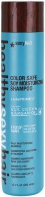 Sexy Hair Healthy champú hidratante para proteger el color  sin sulfatos y parabenos