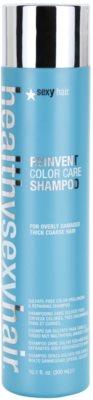 Sexy Hair Healthy Shampoo zum Beleben der Haarfarbe für beschädigtes und raues Haar Sulfatfrei