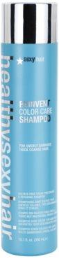 Sexy Hair Healthy шампоан за съживяване цвета на увредена и груба коса без сулфати