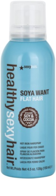 Sexy Hair Healthy fixační sprej pro tepelnou úpravu vlasů