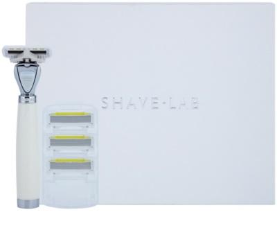 Shave-Lab Premium Aon P.L.4 Бритва Змінні картриджі 3 шт 2