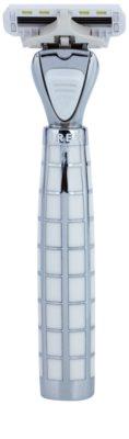 Shave-Lab Luxury Tres P.L.4 brivnik + nadomestne britvice 3 kos 1
