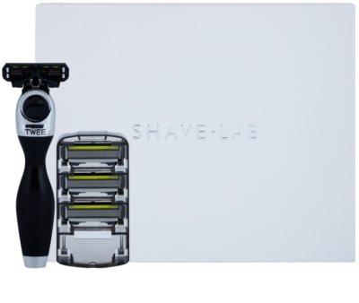 Shave-Lab Premium Twee P.4 borotva tartalék pengék 3 db 2