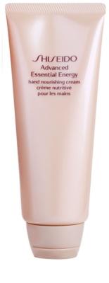 Shiseido Body Advanced Essential Energy crema revitalizadora para manos