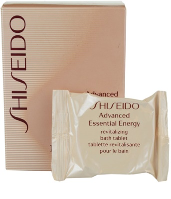 Shiseido Body Advanced Essential Energy tabletes de banho 1