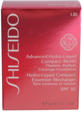 Shiseido Base Advanced Hydro-Liquid base de maquillaje hidratante compacta - recambio SPF 10 4