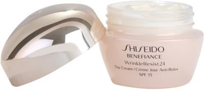 Shiseido Benefiance WrinkleResist24 nappali ránctalanító krém SPF 15 1