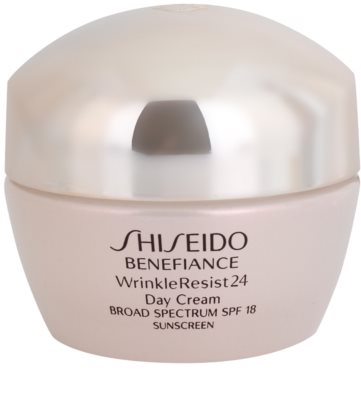 Shiseido Benefiance WrinkleResist24 регенериращ и хидратиращ крем SPF 18