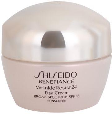 Shiseido Benefiance WrinkleResist24 crema hidratante y regeneradora  SPF 18