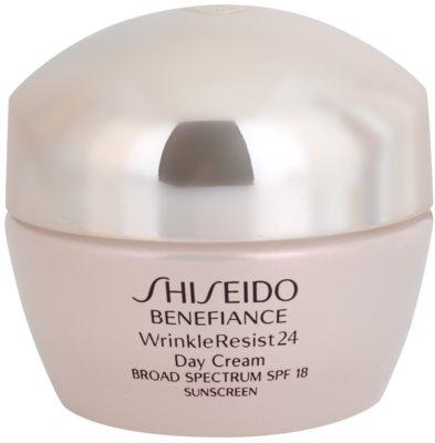 Shiseido Benefiance WrinkleResist24 crema regeneratoare si hidratanta SPF 18