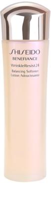 Shiseido Benefiance WrinkleResist24 verfeinernder und Feuchtigkeit spendender Toner gegen Falten