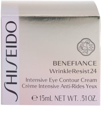 Shiseido Benefiance WrinkleResist24 intenzivní oční krém proti vráskám 4