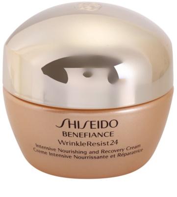 Shiseido Benefiance WrinkleResist24 Creme intensivo nutritivo antirrugas