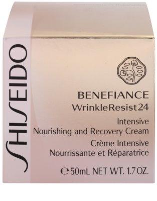 Shiseido Benefiance WrinkleResist24 Creme intensivo nutritivo antirrugas 3
