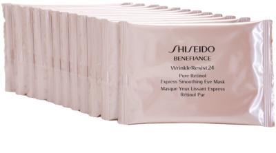 Shiseido Benefiance WrinkleResist24 mascarilla para contorno de ojos con retinol