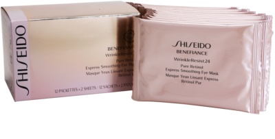 Shiseido Benefiance WrinkleResist24 mascarilla para contorno de ojos con retinol 1