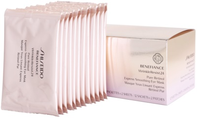 Shiseido Benefiance WrinkleResist24 mascarilla para contorno de ojos con retinol 2
