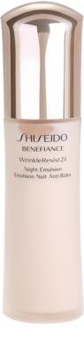 Shiseido Benefiance WrinkleResist24 feuchtigkeitsspendende Nachtpflege gegen Falten