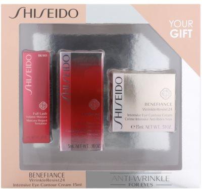 Shiseido Benefiance WrinkleResist24 kosmetická sada VII. 1