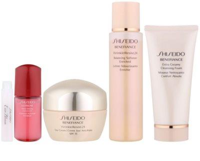 Shiseido Benefiance WrinkleResist24 set cosmetice VIII.