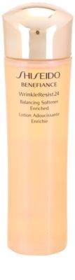 Shiseido Benefiance WrinkleResist24 stark feuchtigkeitsspendendes Hauttonikum gegen Falten