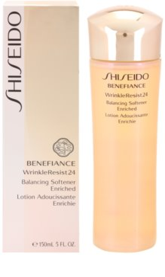 Shiseido Benefiance WrinkleResist24 intensywnie nawilżający tonik do twarzy przeciw zmarszczkom 2