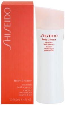 Shiseido Body Advanced Body Creator relaxációs fürdő esszencia 1
