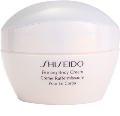 Shiseido Body spevňujúci telový krém s hydratačným účinkom