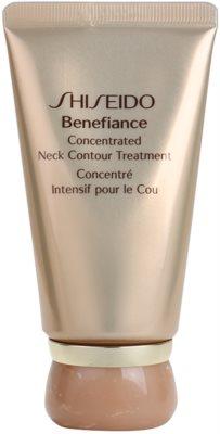 Shiseido Benefiance creme regenerador antirrugas para pescoço e decote