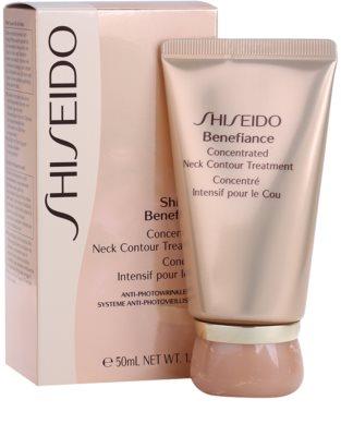Shiseido Benefiance ránctalanító és regeneráló krém nyakra és a dekoltázsra 1