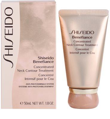 Shiseido Benefiance ránctalanító és regeneráló krém nyakra és a dekoltázsra 2