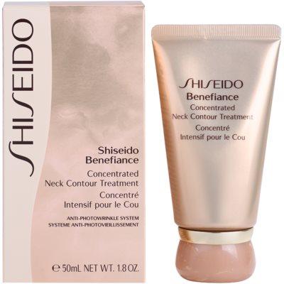 Shiseido Benefiance regeneracijska krema proti gubam za vrat in dekolte 2