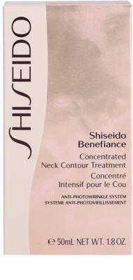 Shiseido Benefiance ránctalanító és regeneráló krém nyakra és a dekoltázsra 3