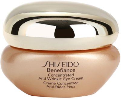 Shiseido Benefiance krem pod oczy przeciw opuchnięciom i cieniom
