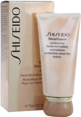 Shiseido Benefiance crema de manos protectora SPF 8 1